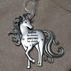 GANZ Unicorn Ornament Sisters